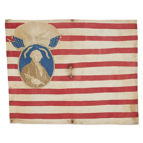 Lot 39 - A 'Know Nothing' American Flag