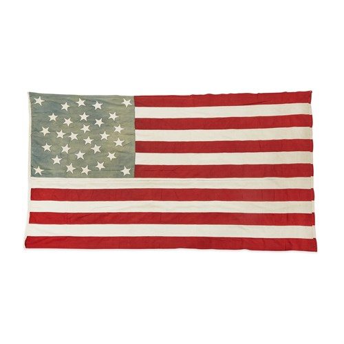 Lot 32 - A 29-Star American Flag commemorating Iowa statehood