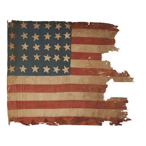 Lot 34 - A 30-Star American Flag commemorating Wisconsin statehood