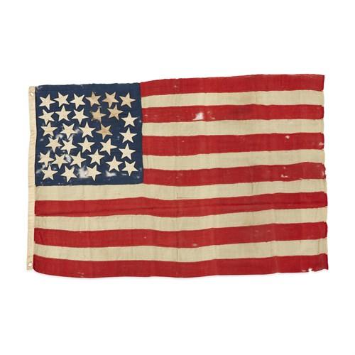 Lot 36 - A 31-Star American Flag commemorating California statehood
