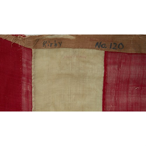 Lot 47 - A 34-Star American Flag commemorating Kansas statehood