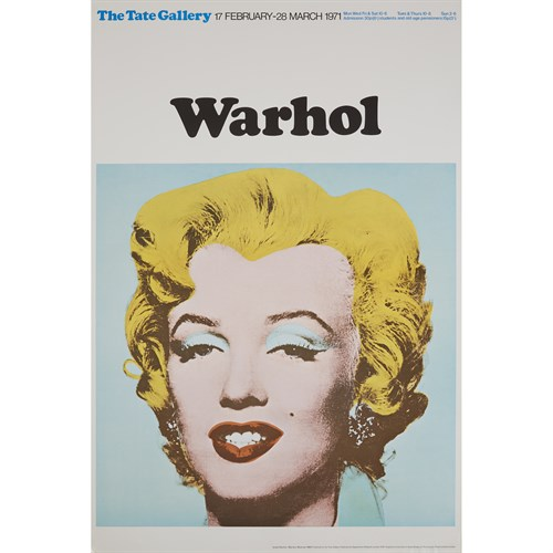 Lot 157 - Three PostersAfter Andy Warhol (American, 1928-1987)