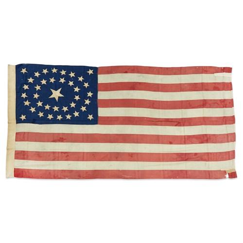 Lot 71 - A 38-Star American Flag commemorating Colorado statehood