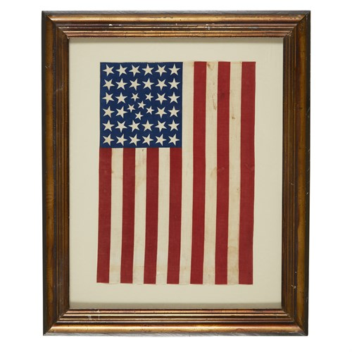 Lot 73 - A 38-Star American parade Flag commemorating Colorado statehood