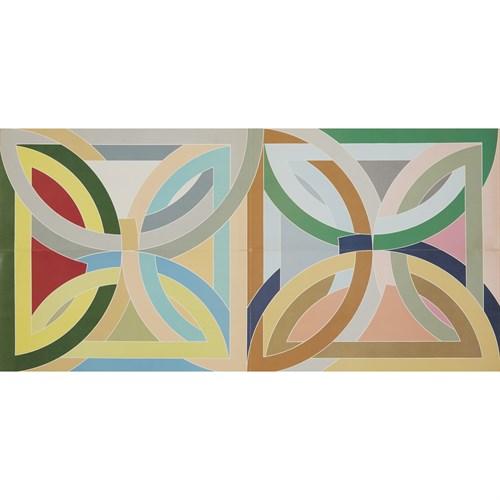 Lot 162 - Four Exhibition AnnouncementsAfter Frank Stella (American, b. 1936)