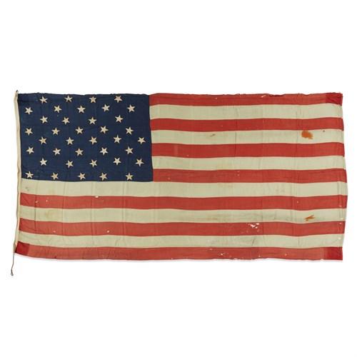 Lot 75 - A 38-Star American Flag commemorating Colorado statehood