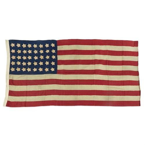 Lot 82 - A 40-Star American Flag commemorating North Dakota and South Dakota statehoods