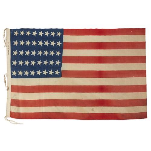 Lot 81 - A 40-Star American Flag commemorating North Dakota and South Dakota statehoods