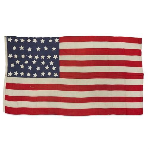 Lot 83 - A 41-Star American Flag commemorating Montana statehood