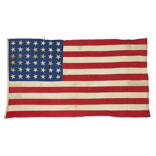 Lot 85 - A 42-Star American Flag commemorating Washington statehood