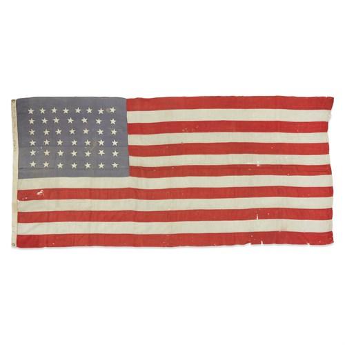 Lot 88 - A 43-Star American Flag commemorating Idaho statehood