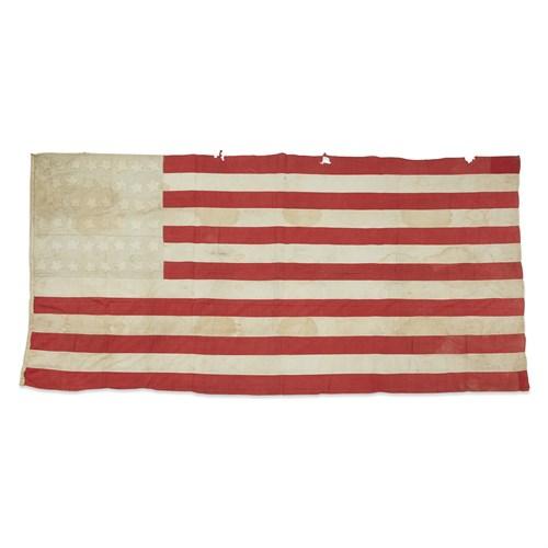 Lot 94 - A 45-Star American Flag commemorating Utah statehood