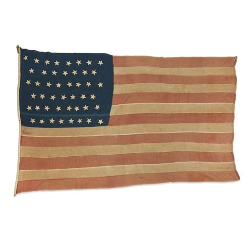 Lot 95 - A 46-Star American Flag commemorating Oklahoma statehood