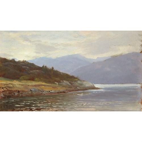 Lot 13 - William Trost Richards (American, 1833-1905)