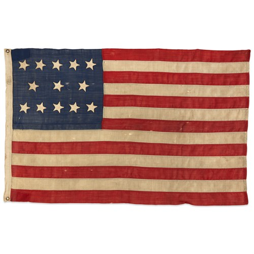 Lot 6 - A 13-Star American Flag