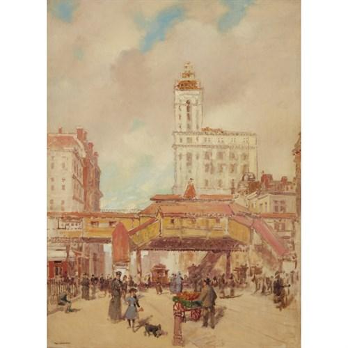 Lot 66 - Paul Cornoyer (American, 1864-1923)