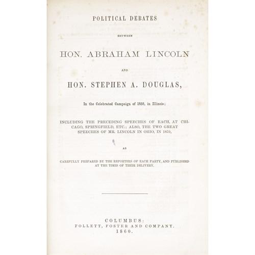 Lot 5 - [Americana] [Lincoln, Abraham]