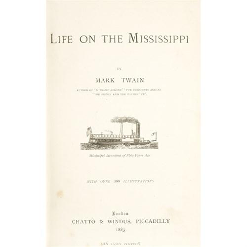 Lot 86 - [Literature] Twain, Mark (Samuel L. Clemens)