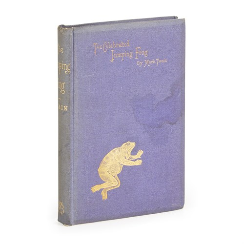 Lot 85 - [Literature] Twain, Mark (Samuel L. Clemens)