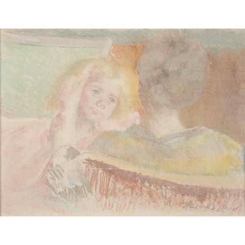 Lot 37 - Mary Cassatt (American, 1844–1926)