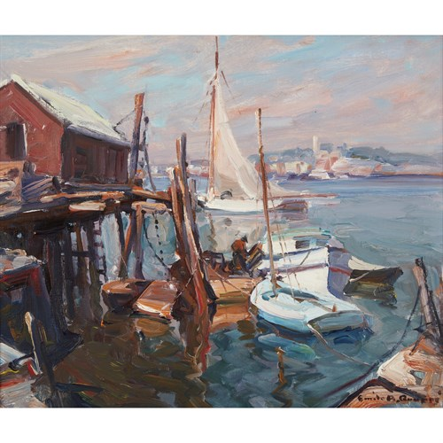 Lot 28 - Emile Albert Gruppe (American, 1896-1978)