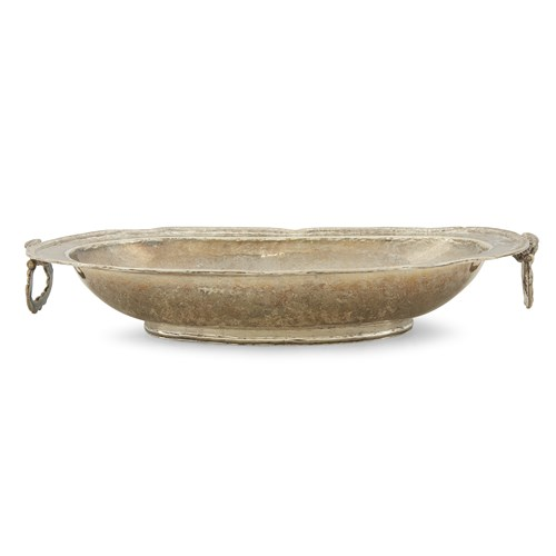 Lot 16 - Spanish Colonial silver oblong serving dish
