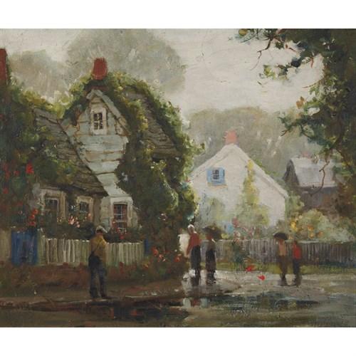 Lot 49 - Anthony Thieme (American, 1888-1954)