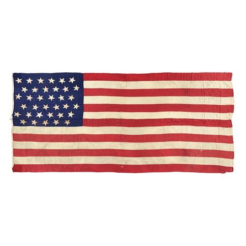 Lot 55 - A 35-Star American Flag commemorating West Virginia statehood