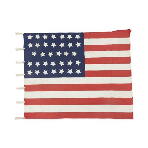 Lot 51 - A 34-Star American Flag commemorating Kansas statehood