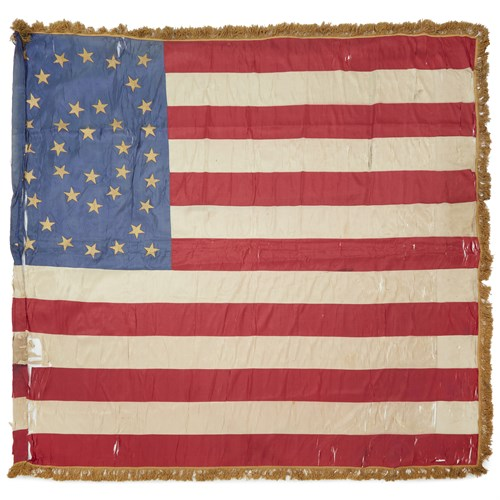 Lot 64 - A 37-Star United States military Color