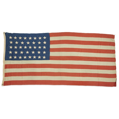 Lot 78 - A 38-Star American Flag commemorating Colorado statehood