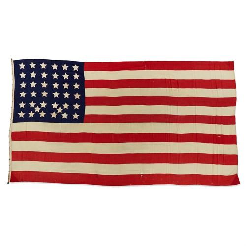 Lot 70 - A 38-Star American Flag commemorating Colorado statehood