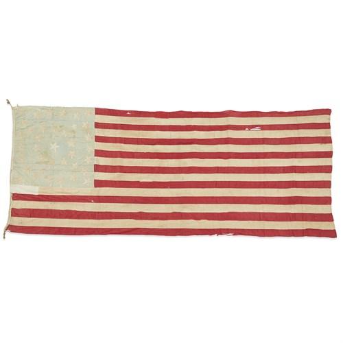 Lot 69 - A 37-Star American Flag commemorating Nebraska statehood