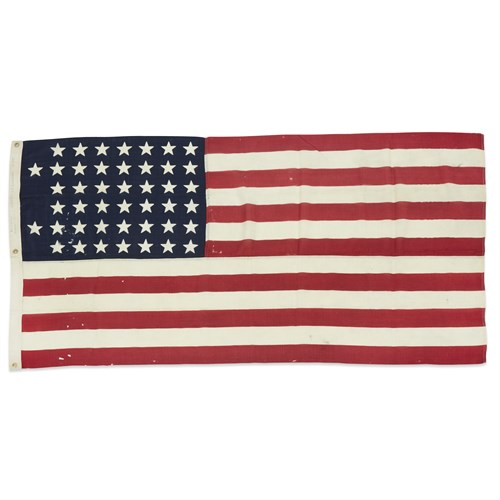 Lot 91 - A 44-Star American Flag commemorating Wyoming statehood