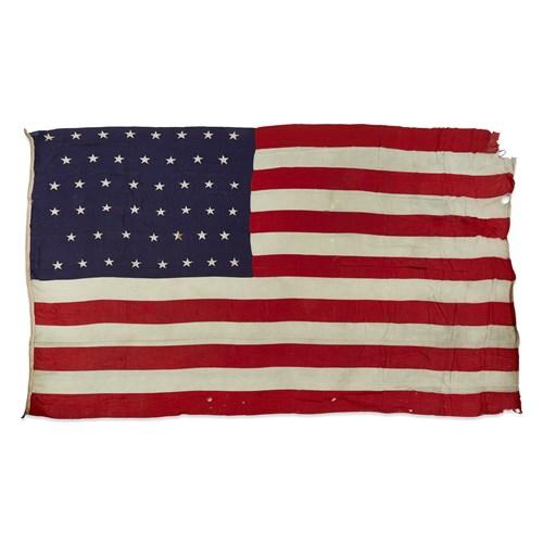 Lot 96 - A 46-Star American Flag commemorating Oklahoma statehood