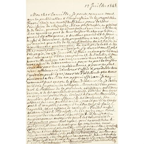 Lot 19 - [Autographs & Manuscripts] Philippe, Louis, I (King of France)