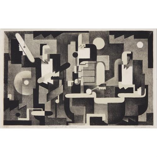 Lot 1 - Benton Murdoch Spruance (American, 1904-1967)