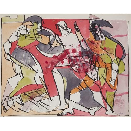 Lot 89 - Romare Bearden (American, 1911–1988)