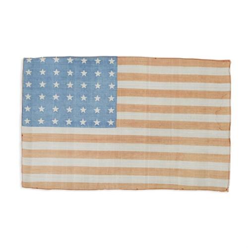 Lot 87 - A 42-Star American parade Flag commemorating Washington statehood