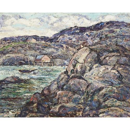 Lot 53 - Ernest Lawson (American/Canadian, 1873–1939)