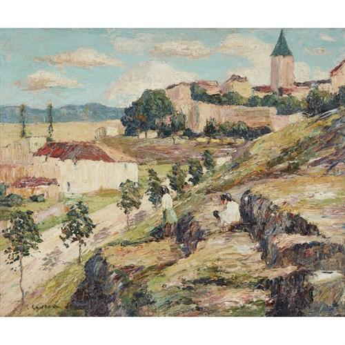 Lot 54 - Ernest Lawson (American/Canadian, 1873-1939)