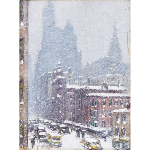 Lot 60 - Guy Carleton Wiggins (American, 1883–1962)