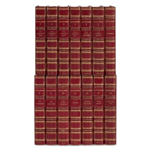 Lot 60 - [Fine Bindings] Galsworthy, John