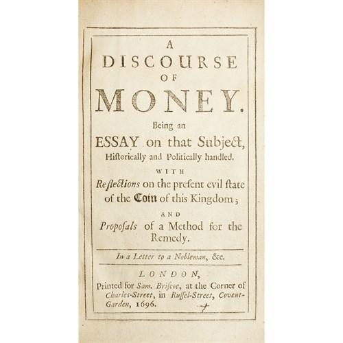 Lot 47 - [Finance] (Briscoe, John)