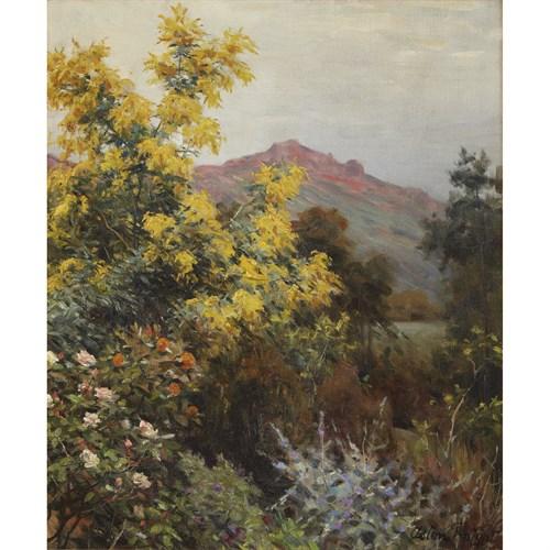 Lot 70 - Louis Aston Knight (American, 1873-1948)