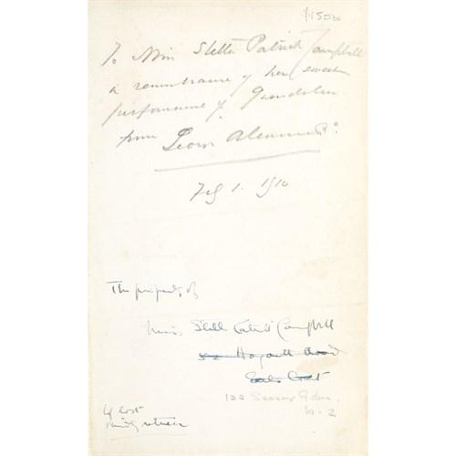 Lot 87 - [Literature] Wilde, Oscar