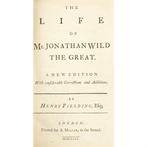 Lot 76 - [Literature] Fielding, Henry