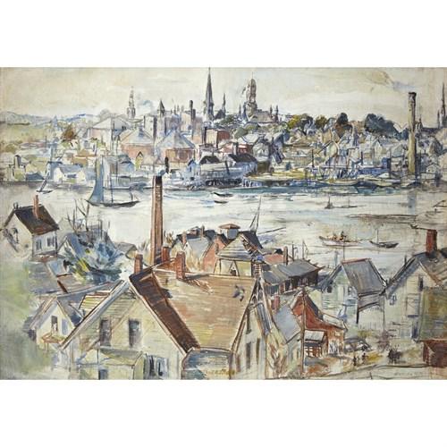 Lot 80 - Theresa Ferber Bernstein (American/Polish, 1890-2002)