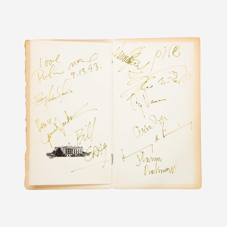 Lot 20 - [Autographs & Manuscripts] [Oslo Accords]
