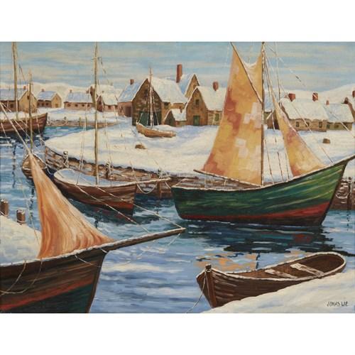 Lot 51 - Jonas Lie (American/Norwegian, 1880–1940)